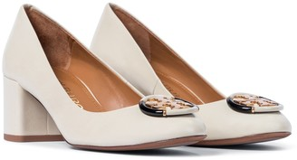 Tory Burch Multi Logo 55 leather pumps