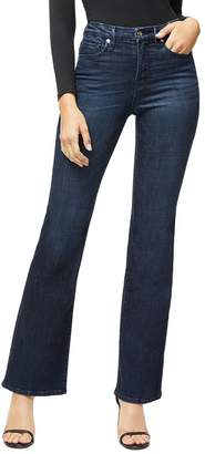 Good American Good Flare Jeans in Blue025