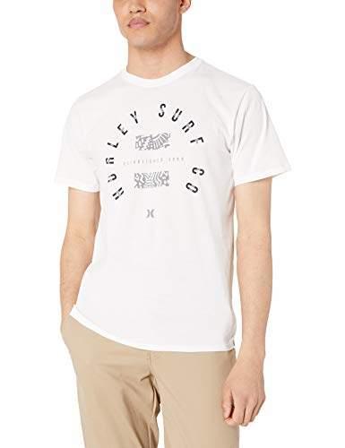 5da8c55a Hurley White Men's Tshirts - ShopStyle