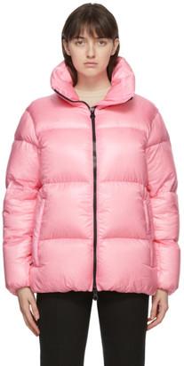Duvetica Pink Down Alwaid Jacket