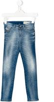 Diesel slim-fit jeans - kids - Cotton/Polyester/Spandex/Elastane - 12 yrs