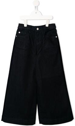Emporio Armani Kids flared jeans
