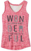 Miss Chievous Girls 7-16 Lace Back Tank Top