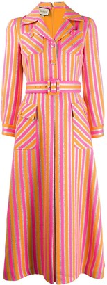 Gucci striped shirt dress