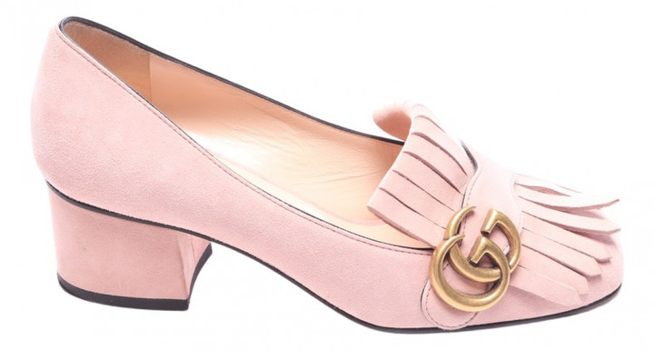 gucci pink marmont shoes