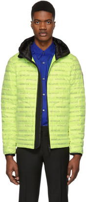 Moncler Yellow Down Dun Jacket