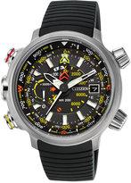 Citizen Men's Chronograph Eco-Drive Promaster Altichron Black Rubber Strap Watch 50mm BN5030-06E