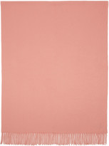 Acne Studios Pink Canada Wide Scarf
