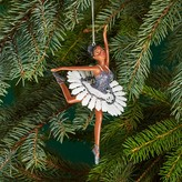 Bloomingdale's Glitter Ballerina Ornament - 100% Exclusive