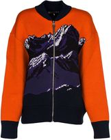 Emilio Pucci Orange Bomber Coat