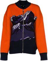 Emilio Pucci Orange Bomber Coat
