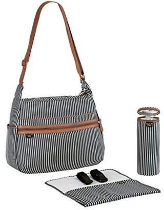 Lassig Marv Pinstripe Urban Bag, Anthracite