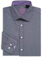 English Laundry Textured Cotton Dress Shirt