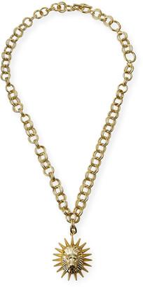 Kendra Scott Large Lion-Link Pendant Necklace