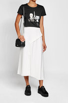 Karl Lagerfeld Printed Cotton T-Shirt with Sequins