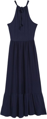 Caslon Tiered Halter Maxi Dress