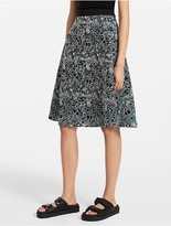 Calvin Klein Platinum Floral Embroidery Skirt