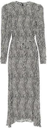 Isabel Marant Telenda polka-dot midi dress