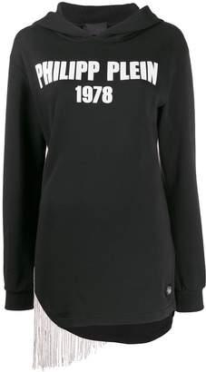 Philipp Plein fringed hoodie