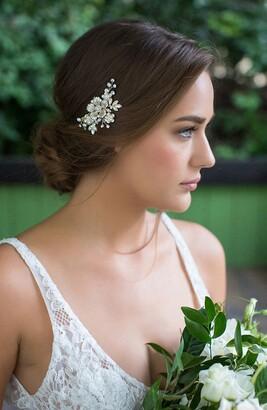 Brides & Hairpins Alessandra Floral Crystal Clip