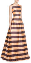 Emilia Wickstead Striped Gown