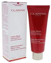 Clarins Super Restorative Hand Cream for Women, 3.3 Ounce