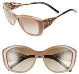 Burberry 'Gabardine Lace' 57mm Sunglasses
