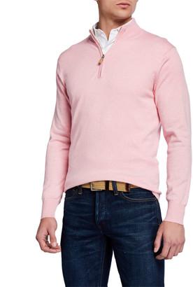 Peter Millar Men's Crown Soft Quarter-Zip Sweater