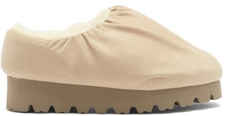 Yume Yume - Camp Faux-suede Shoes - Beige