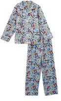 Intimo Blue Teen Titans Pajama Set - Boys