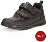 Clarks Younger Boys Gloforms Reflectace Strap School Shoes - Width Sizes Available