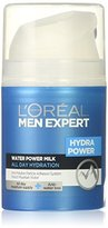 L'Oreal Men Expert Hydra Power Water Milk, 1.7 Ounce
