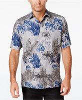 Tasso Elba Men's Floral Short-Sleeve Shirt, Only at Macy's