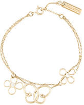 Nina Ricci Double-Strand Charm Bracelet