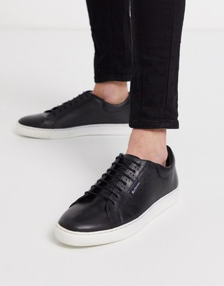 Ben Sherman chunky sole sneakers in black