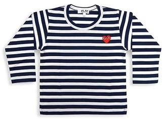 Comme des Garcons Little Kid's Play Kids Striped Shirt