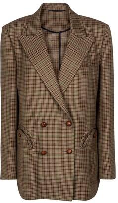 BLAZÉ MILANO Everynight checked wool blazer