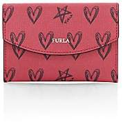 Furla Women's San Valentino Leather Card Case