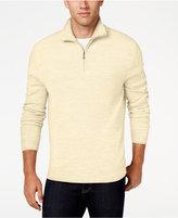 Weatherproof Vintage Men's Quarter-Zip Sweater, Classic Fit