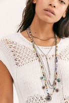Free People La Paz Coin Necklace by Free People, Silver, One Size