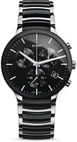 Rado Centrix XL Quartz Chronograph Ceramic & Stainless Steel Watch, 44mm
