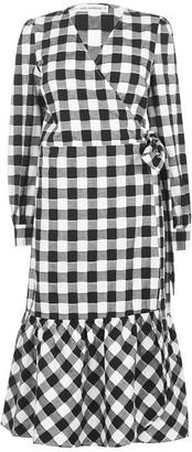 Sofie Schnoor Gingham Wrap Dress