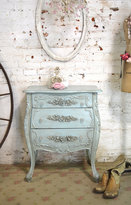 Etsy French Night Table Painted Cottage Chic Shabby Romantic French Bombay Night Table