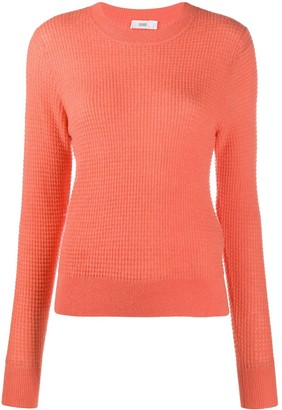 Closed Textured Knitted Jumper