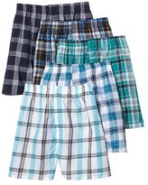 Fruit of the Loom Men's Printed Woven Boxer