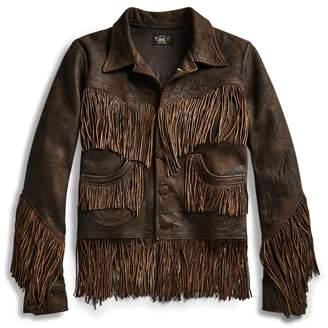Ralph Lauren Fringe Leather Jacket