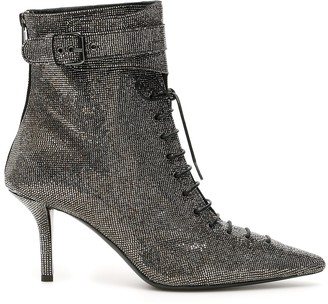 Philosophy di Lorenzo Serafini Embellished Lace-Up Boots