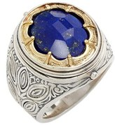 Konstantino Men's 'Orpheus' Petal Set Semiprecious Stone Ring