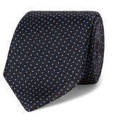 Drake's - 8cm Embroidered Silk Tie