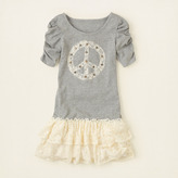 Children's Place Peace lace tiered dress